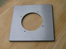 "Calumet 4x4"" metal  lens board panel for compur 2 with 51.5mm  hole 105822"