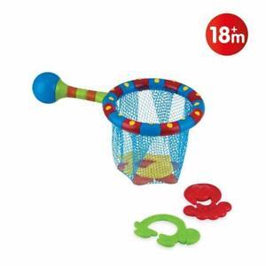 Nuby Splash n' Catch BathTime Fun Toddler Toy Set BPA Free NEW & SEALED