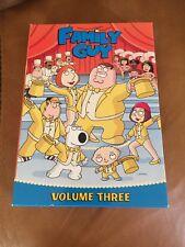 FAMILY GUY VOLUME THREE SEASON 3 DVD CARTOON