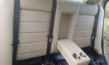 JAGUAR X TYPE REAR LEATHER SEAT BACK REST FOLD DOWN CODE SEL HEADRESTS + ARMREST