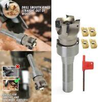 4X APMT1604 Carbide Inserts + R8 Shank Arbor + 400R Durable Face L6C0 50MM S1G2