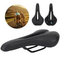 Bike Bicycle MTB Waterproof Saddle Cycling Soft Seat Synthetic Hollow Gel Saddle