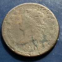 1808 Large Cent Classic Head One Cent 1c Circulated #9918
