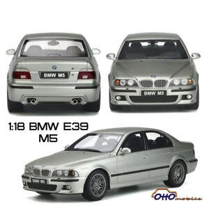 OTTO Mobile 1:18 BMW M5 E39 Diecast Model Car Collection Silver Pre-sale