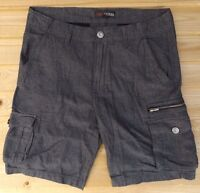 "MEN`S NEW GUESS CARGO SHORTS SIZES 28-30-31-32-33-34-36-38-40"" - RRP £40"