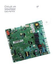 Circuit Imprimé Carte Principal Chaudiere Saunier Duval S1047000