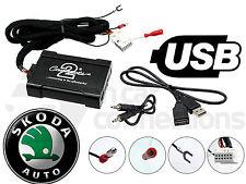CTASKUSB003 Skoda Octavia USB adapter interface car AUX SD input MP3 jack 2005 >