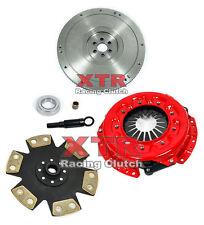 XTR STAGE 4 CERAMIC CLUTCH KIT & FLYWHEEL FOR 75-83 DATSUN 280Z 280ZX 2+2 TURBO