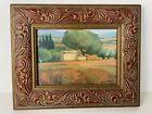Estivalet Signed Framed Artwork Italy Painting Tuscany Set of 2 See Description