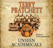 Terry Pratchett - Unseen Academicals (Audiobook CD) Discworld