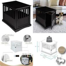 """Casual Home Wooden Pet Crate 20""""W x 27.5""""D x 24""""H, Black"""