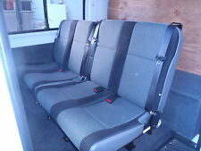 Mercedes Sprinter Series 4  Rear Double, Seat with inbuilt seat belts, 2x2=4