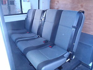 Mercedes Sprinter Series 4  Rear Double, Seat with Inbuilt Seat Belts 2x2=4