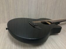 Haze 836CGBK Round-Back Acoustic Guitar,Black Gloss+Padded Bag+Accessory Pack!