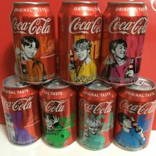 BTS Coca Cola Coke Aluminum Can Limited Special Edition BangtanBoys (SOME DENTS)