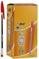 Pen Cristal Bic Red 50 Pack - 8373619