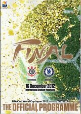 FIFA CLUB WORLD CUP FINAL 2012 CHELSEA v CORINTHIANS OFFICIAL PROGRAMME