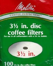"Melitta 1000 Pack 3-1/2"" Disc Coffee Filter, Norelco"