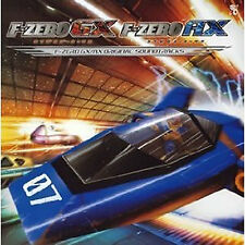 F-zero Music Soundtrack Japanese CD GAME  F-zero  GX AX