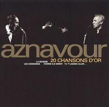 Charles Aznavour 20 Chansons Dor CD
