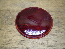 Schwinn Approved Prewar Autocycle Bicycle Deluxe Glass Reflector Insert Only