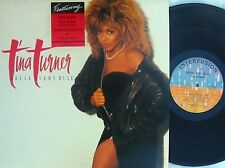 Tina Turner ORIG OZ LP Break every rule NM '86 R&B Dance rock Interfusion