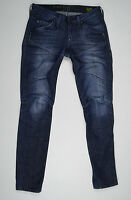 G-Star Jeans 'ELWOOD HERITAGE EMBRO NARROW WMN' W24 L32 AU6 US2 LOOK NEW Womens