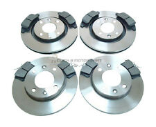 PEUGEOT 307 1.4 1.4 HDi 1.6  FRONT & REAR BRAKE DISCS & PADS CHECK SIZE CHOICE