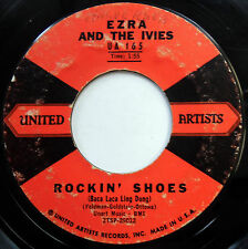 EZRA & THE IVIES 45 Rockin Shoes / Comic Book Crazy TEEN Doo Wop 1959 m11