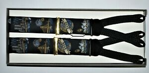 Trafalgar Suspenders Limited Edition One Size Black 2000 Celebration Fireworks