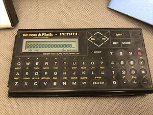 Petrel Marine Navigation Calculator Sharp PC-1248  Weems & Plath in BOX