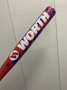 "Worth Camo Amp 34""/26.5oz - 2 1/4"" Barrel ASA Softball Bat"