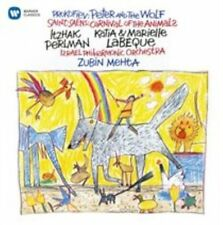 PROKOFIEV: PETER AND THE WOLF; SAINT-SA‰NS: CARNIVAL OF THE ANIMALS NEW CD