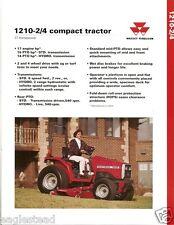 Farm Tractor Brochure - Massey Ferguson - MF 1210 - 2/4 Compact - 1994 (F2218)