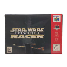 Star Wars Episode 1 Racer Boxed Nintendo 64 Game USED