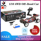 Wltoys 104001 1/10 2.4G 4WD 45km/h RC Racing Car Off-Road Climbing Truck RTR Toy