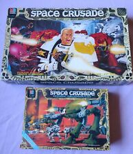 SPACE CRUSADE + expansion MISSION DREADNOUGHT 100% complete vintage WARHAMMER OP