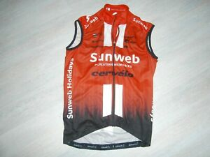 Pro cycling jersey 2020 Team SUNWEB CERVELO summer vest from Jay HINDLEY Size S