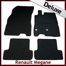 Renault Megane Mk3 Estate 2008-2016 Tailored LUX 1300g Carpet Floor Mats BLACK