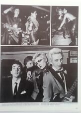 SIOUXSIE & BANSHEES / POLY STYRENE magazine PHOTO/Poster/clipping 11x8 inches