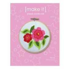 NEW Make It Floral Punch Needle Kit By Spotlight
