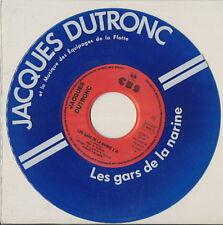 JACQUES DUTRONC 45 TOURS FRANCE LES GARS DE LA NARINE ***VINYLE BLEU***