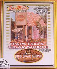 Bar Mills #492 (HO Scale) Papa Lou's Cigar Shoppe -- Kit
