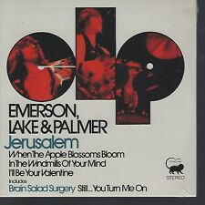 "EMERSON, LAKE & PALMER ""Jerusalem"" limited numbered 7"" Vinyl EP RSD sealed"