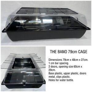 Bano Plastic Tank Cage 80cm Hamster, Dwarf Hamster, Gerbils, Pigmy Hedgehog