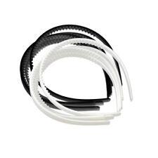 10pcs Women Girls Plain Plastic Headband Hair Band Hoop DIY Hair Accessories