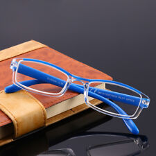 Reading Glasses Full Frame Ultralight Plastic Men Blue Eyeglasses spectacles