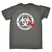 Funny Novelty T-Shirt Mens tee TShirt - Zombie Outbreak Response Team