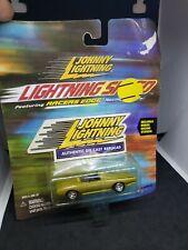 2000 Johnny Lightning Racers Edge Racing Wheels Convertible Lightning Speed