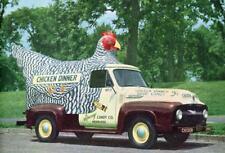 Old Photo.  CHICKEN DINNER - candy truck